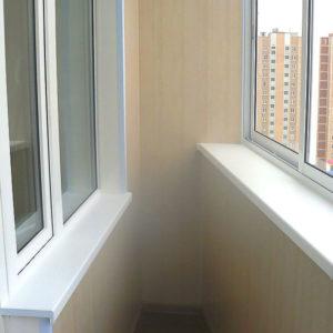 Монтаж балкона Лодочка под ключ, расчет стоимости