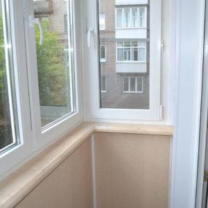 Остекление балкона (Сталинка)