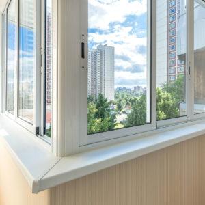 Остекление балкона алюминиевым профилем Provedal (Испания)