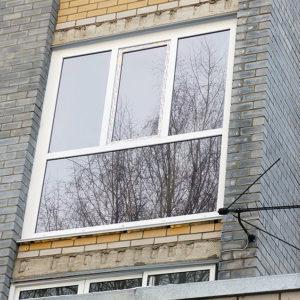 Панорамные окна на лоджию