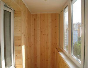 Обшивка балкона вагонкой - инструкция с фото, описанием, при.